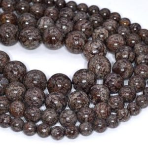 Shop Snowflake Obsidian Beads! Genuine Natural Brown Snowflake Obsidian Loose Beads Round Shape 6mm 8mm 10mm 12mm | Natural genuine beads Snowflake Obsidian beads for beading and jewelry making.  #jewelry #beads #beadedjewelry #diyjewelry #jewelrymaking #beadstore #beading #affiliate #ad