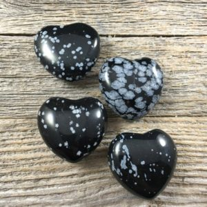Shop Snowflake Obsidian Stones & Crystals! 30mm Snowflake Obsidian Heart – Cyrstal Heart – Crystal Stone Heart – Healing Crystal and Stones – Perfect for crystal collections and more! | Natural genuine stones & crystals in various shapes & sizes. Buy raw cut, tumbled, or polished gemstones for making jewelry or crystal healing energy vibration raising reiki stones. #crystals #gemstones #crystalhealing #crystalsandgemstones #energyhealing #affiliate #ad