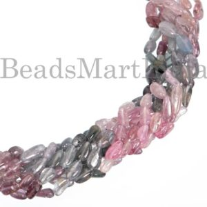 Shop Spinel Chip & Nugget Beads! Extremely Rare Burma Multi Spinel Plain Tumble Shape Gemstone Beads, Burma Multi Spinel Smooth Beads, Burma Multi Spinel Tumble Beads | Natural genuine chip Spinel beads for beading and jewelry making.  #jewelry #beads #beadedjewelry #diyjewelry #jewelrymaking #beadstore #beading #affiliate #ad