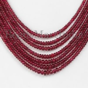 Shop Spinel Necklaces! Unheated Burma Spinel Plain Necklace, Burma Spinel Necklace, Burma Spinel Plain Rondelle necklace, Spinel Plain Rondelle Beads ,Spinel Beads   Natural genuine Spinel necklaces. Buy crystal jewelry, handmade handcrafted artisan jewelry for women.  Unique handmade gift ideas. #jewelry #beadednecklaces #beadedjewelry #gift #shopping #handmadejewelry #fashion #style #product #necklaces #affiliate #ad
