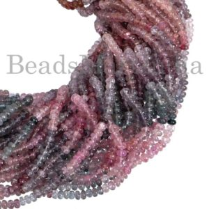 Shop Spinel Rondelle Beads! Rare Burma Multi Spinel Plain Rondelle Shape Beads,Burma Multi Spinel Smooth Beads, Burma Multi Spinel Rondelle Shape Gemstone Beads | Natural genuine rondelle Spinel beads for beading and jewelry making.  #jewelry #beads #beadedjewelry #diyjewelry #jewelrymaking #beadstore #beading #affiliate #ad