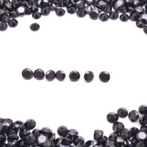 Shop Spinel Beads! AAA+ Natural Black Spinel 3mm-10mm Round Cut Stone | 5 Pieces Lot | Loose Gemstone | Semi Precious Gemstone Black Spinel Round Cut Stone | | Natural genuine beads Spinel beads for beading and jewelry making.  #jewelry #beads #beadedjewelry #diyjewelry #jewelrymaking #beadstore #beading #affiliate #ad