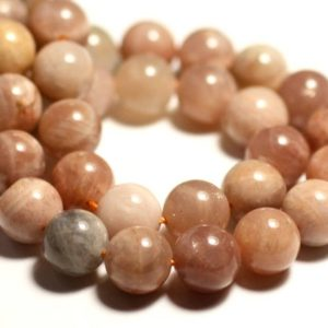 Shop Sunstone Bead Shapes! 5pc – stone beads – Sunstone balls 10mm – 8741140015937 | Natural genuine other-shape Sunstone beads for beading and jewelry making.  #jewelry #beads #beadedjewelry #diyjewelry #jewelrymaking #beadstore #beading #affiliate #ad