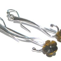 Tiger Eye Earrings Silver 925% | Natural genuine Gemstone jewelry. Buy crystal jewelry, handmade handcrafted artisan jewelry for women.  Unique handmade gift ideas. #jewelry #beadedjewelry #beadedjewelry #gift #shopping #handmadejewelry #fashion #style #product #jewelry #affiliate #ad