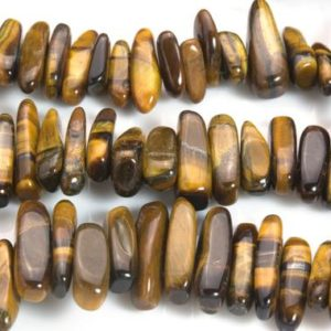 Shop Tiger Eye Bead Shapes! brown tiger eye stick beads – natural tiger eye sticks – yellow gemstone sticks – brown tiger eye stone – 13-20mm stick beads -15inch | Natural genuine other-shape Tiger Eye beads for beading and jewelry making.  #jewelry #beads #beadedjewelry #diyjewelry #jewelrymaking #beadstore #beading #affiliate #ad