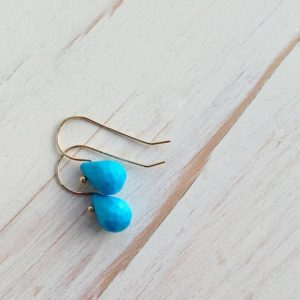 Shop Turquoise Earrings! Turquoise Earrings Turquoise Jewelry Gemstone Jewelry Gemstone Earrings Sleeping Beauty Turquoise Teardrops | Natural genuine Turquoise earrings. Buy crystal jewelry, handmade handcrafted artisan jewelry for women.  Unique handmade gift ideas. #jewelry #beadedearrings #beadedjewelry #gift #shopping #handmadejewelry #fashion #style #product #earrings #affiliate #ad