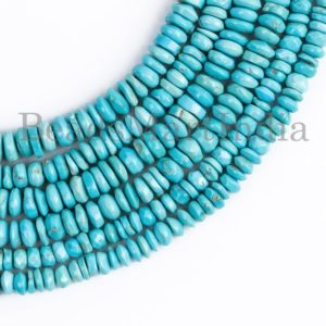 Shop Turquoise Rondelle Beads! Turquoise Beads, Turquoise Smooth Beads, Turquoise Tyre Shape Beads, Turquoise Smooth Tyre Shape Beads, Turquoise Plain Tyre Shape Beads   Natural genuine rondelle Turquoise beads for beading and jewelry making.  #jewelry #beads #beadedjewelry #diyjewelry #jewelrymaking #beadstore #beading #affiliate #ad