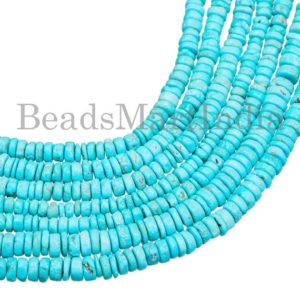 Shop Turquoise Rondelle Beads! Turquoise Smooth Beads, Turquoise Tyre Shape Beads, Turquoise Smooth Tyre Shape Beads, Turquoise Plain Tyre Shape Beads, Turquoise Beads   Natural genuine rondelle Turquoise beads for beading and jewelry making.  #jewelry #beads #beadedjewelry #diyjewelry #jewelrymaking #beadstore #beading #affiliate #ad