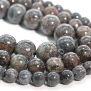 Shop Turquoise Round Beads! Gray Turquoise Loose Beads Round Shape 6mm 7-8mm 10mm 12mm | Natural genuine round Turquoise beads for beading and jewelry making.  #jewelry #beads #beadedjewelry #diyjewelry #jewelrymaking #beadstore #beading #affiliate #ad