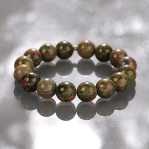 Shop Unakite Bracelets! UNAKITE Stretch Bracelet – Unakite Bracelet, Unakite Jasper, Unakite Jewelry, Unakite Stone, Natural Unakite Gemstone, Bracelet Unakite | Natural genuine Unakite bracelets. Buy crystal jewelry, handmade handcrafted artisan jewelry for women.  Unique handmade gift ideas. #jewelry #beadedbracelets #beadedjewelry #gift #shopping #handmadejewelry #fashion #style #product #bracelets #affiliate #ad