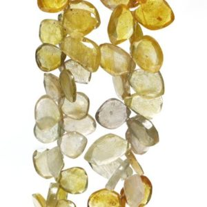 Shop Yellow Sapphire Beads! Yellow Sapphire Beads, Sapphire Beads, Yellow Sapphire Fancy Beads, Yellow Sapphire Gemstone Beads, Natural Yellow Sapphire Fancy Beads | Natural genuine other-shape Yellow Sapphire beads for beading and jewelry making.  #jewelry #beads #beadedjewelry #diyjewelry #jewelrymaking #beadstore #beading #affiliate #ad