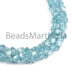 Shop Zircon Beads! Blue Zircon Natural Faceted Nugget Beads, Blue Zircon Faceted Beads, Blue Zircon Nugget Beads, Blue Zircon Beads, Blue Zircon   Natural genuine chip Zircon beads for beading and jewelry making.  #jewelry #beads #beadedjewelry #diyjewelry #jewelrymaking #beadstore #beading #affiliate #ad