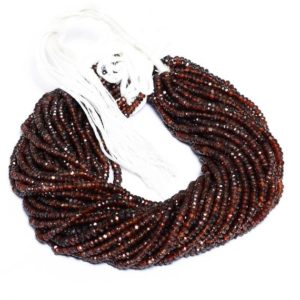 Shop Zircon Beads! AAA+ Zircon 3mm-5mm Faceted Rondelle Beads   13inch Strand   Natural Brown Zircon Semi Precious Gemstone Handcut Beads for Jewelry Making   Natural genuine faceted Zircon beads for beading and jewelry making.  #jewelry #beads #beadedjewelry #diyjewelry #jewelrymaking #beadstore #beading #affiliate #ad