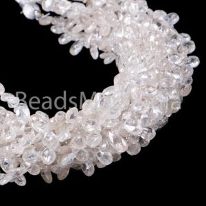 Shop Zircon Beads! White Zircon Faceted Pear Shape Beads, White Zircon Natural Faceted Beads, Natural White Color Zircon Pear Shape Beads, White Zircon Beads   Natural genuine faceted Zircon beads for beading and jewelry making.  #jewelry #beads #beadedjewelry #diyjewelry #jewelrymaking #beadstore #beading #affiliate #ad