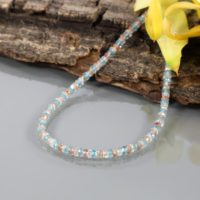 925 Sterling Silver Natural Multi Zircon Faceted Rondelle Beads Necklace Aaa Multi Color Zircon Jewelry Shaded Zircon Jewelry, Gift For Her   Natural genuine Gemstone jewelry. Buy crystal jewelry, handmade handcrafted artisan jewelry for women.  Unique handmade gift ideas. #jewelry #beadedjewelry #beadedjewelry #gift #shopping #handmadejewelry #fashion #style #product #jewelry #affiliate #ad