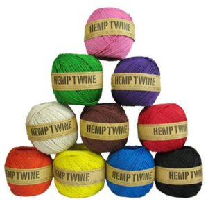 Shop Hemp Twine! 1 Hemp Twine Ball, Choose Color, 1mm Smooth Cord, 430 Feet, 20lb Strength | Shop jewelry making and beading supplies, tools & findings for DIY jewelry making and crafts. #jewelrymaking #diyjewelry #jewelrycrafts #jewelrysupplies #beading #affiliate #ad