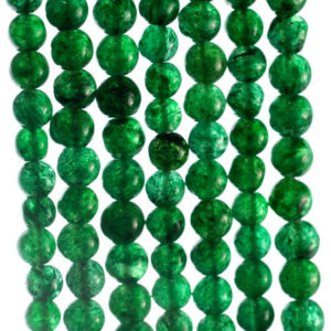 Shop Aventurine Chip & Nugget Beads! 5×4-6x5mm Green Moss Aventurine Gemstone Green Nugget Round Loose Beads 14 inch Full Strand (90185161-892) | Natural genuine chip Aventurine beads for beading and jewelry making.  #jewelry #beads #beadedjewelry #diyjewelry #jewelrymaking #beadstore #beading #affiliate #ad