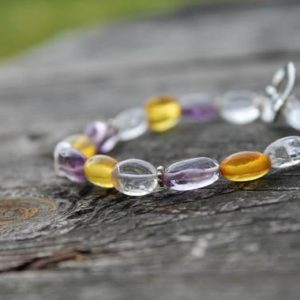Shop Amethyst Bracelets! Amethyst Bracelet / April Birthstone / Birthday / Purple / Cristal Jewelry / Aries Taurus  / Healing Jewelry / Valentines Day Gift For Her | Natural genuine Amethyst bracelets. Buy crystal jewelry, handmade handcrafted artisan jewelry for women.  Unique handmade gift ideas. #jewelry #beadedbracelets #beadedjewelry #gift #shopping #handmadejewelry #fashion #style #product #bracelets #affiliate #ad