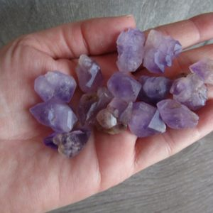 Amethyst Raw Backbone Medium Stone U23 | Natural genuine stones & crystals in various shapes & sizes. Buy raw cut, tumbled, or polished gemstones for making jewelry or crystal healing energy vibration raising reiki stones. #crystals #gemstones #crystalhealing #crystalsandgemstones #energyhealing #affiliate #ad