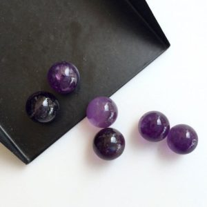 Shop Amethyst Rondelle Beads! 25 Pieces Wholesale 9x9mm Each Natural Amethyst Smooth Rondelles Shaped Purple Color Loose Cabochons Sku-a4 | Natural genuine rondelle Amethyst beads for beading and jewelry making.  #jewelry #beads #beadedjewelry #diyjewelry #jewelrymaking #beadstore #beading #affiliate #ad