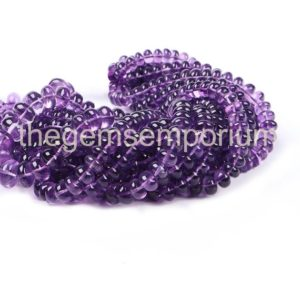 Shop Amethyst Rondelle Beads! Amethyst Plain Rondelle Gemstone Natural Beads, Amethyst Plain Beads, African Amethyst Beads, African Amethyst, Amethyst Beads, Amethyst | Natural genuine rondelle Amethyst beads for beading and jewelry making.  #jewelry #beads #beadedjewelry #diyjewelry #jewelrymaking #beadstore #beading #affiliate #ad