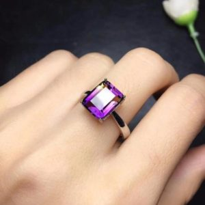 100% Natural Ametrine Ring, Beautiful Fire Ring, Ametrine Engagement Ring , 925 Sterling Silver, Anniversary & Wedding Ring, Gift For Her | Natural genuine Gemstone rings, simple unique alternative gemstone engagement rings. #rings #jewelry #bridal #wedding #jewelryaccessories #engagementrings #weddingideas #affiliate #ad