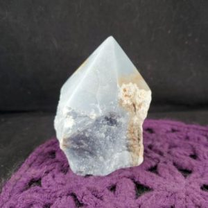 Shop Angelite Points & Wands! Angelite Top Polished Crystal Point Large Stones Crystals Natural Blue Anhydrite Unique Display Self standing Peru   Natural genuine stones & crystals in various shapes & sizes. Buy raw cut, tumbled, or polished gemstones for making jewelry or crystal healing energy vibration raising reiki stones. #crystals #gemstones #crystalhealing #crystalsandgemstones #energyhealing #affiliate #ad