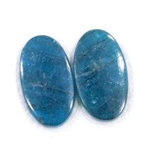 Shop Apatite Cabochons! 100% Natural Blue Apatite Pair For Earring 14*26 Mm Pear Shape Blue Brazilian Apatite 33.45 Cts Apatite Ornamental Stone Flat Back Cabochon   Natural genuine stones & crystals in various shapes & sizes. Buy raw cut, tumbled, or polished gemstones for making jewelry or crystal healing energy vibration raising reiki stones. #crystals #gemstones #crystalhealing #crystalsandgemstones #energyhealing #affiliate #ad
