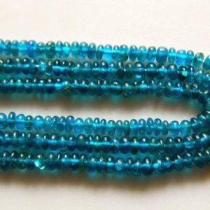 Shop Apatite Rondelle Beads! Apatite Rondelles, Blue Apatite Beads, 6mm To 7mm Beads, 7 Inch Half Strand   Natural genuine rondelle Apatite beads for beading and jewelry making.  #jewelry #beads #beadedjewelry #diyjewelry #jewelrymaking #beadstore #beading #affiliate #ad