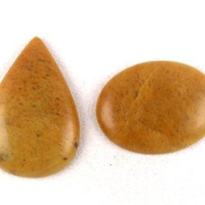 Shop Aventurine Cabochons! 2 Pcs Natural Yellow Aventurine Oval, pear Shape Smooth Cabochon, natural Aventurine Cabochon, aventurine Pear, aventurine Oval, 80 Carat, cabs | Natural genuine stones & crystals in various shapes & sizes. Buy raw cut, tumbled, or polished gemstones for making jewelry or crystal healing energy vibration raising reiki stones. #crystals #gemstones #crystalhealing #crystalsandgemstones #energyhealing #affiliate #ad
