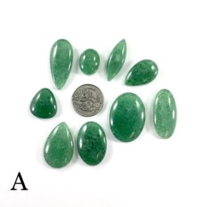 Shop Aventurine Cabochons! Kiwi Quartz Cabochon Lots // Green Aventurine Cabochon // Gems // Cabochons // Jewelry Making Supplies // Village Silversmith   Natural genuine stones & crystals in various shapes & sizes. Buy raw cut, tumbled, or polished gemstones for making jewelry or crystal healing energy vibration raising reiki stones. #crystals #gemstones #crystalhealing #crystalsandgemstones #energyhealing #affiliate #ad