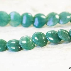 Shop Aventurine Necklaces! M/ Aventurine 12mm Lentil Beads 15.5 inches long, Natural green quartz gemstone Nice Cut Lentil, For Necklace, And Jewelry Making | Natural genuine Aventurine necklaces. Buy crystal jewelry, handmade handcrafted artisan jewelry for women.  Unique handmade gift ideas. #jewelry #beadednecklaces #beadedjewelry #gift #shopping #handmadejewelry #fashion #style #product #necklaces #affiliate #ad