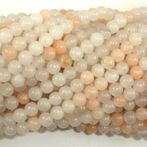 Shop Aventurine Round Beads! Pink Aventurine Beads, 4mm (4.5 mm) Round Beads, 15.5 Inch, Full strand, Approx 92 beads, Hole 0.8mm (353054010) | Natural genuine round Aventurine beads for beading and jewelry making.  #jewelry #beads #beadedjewelry #diyjewelry #jewelrymaking #beadstore #beading #affiliate #ad