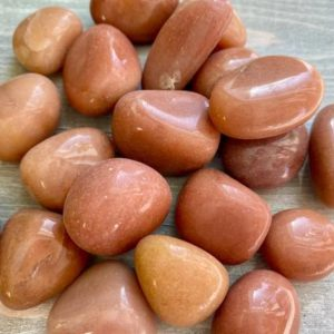 Shop Tumbled Aventurine Crystals & Pocket Stones! Pink Aventurine Tumbled Large Calm Heart Healing Peace Creativity Energy | Natural genuine stones & crystals in various shapes & sizes. Buy raw cut, tumbled, or polished gemstones for making jewelry or crystal healing energy vibration raising reiki stones. #crystals #gemstones #crystalhealing #crystalsandgemstones #energyhealing #affiliate #ad