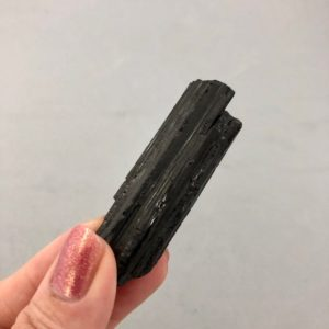 Shop Black Tourmaline Stones & Crystals! Rough Black Tourmaline Mineral Specimen | Natural genuine stones & crystals in various shapes & sizes. Buy raw cut, tumbled, or polished gemstones for making jewelry or crystal healing energy vibration raising reiki stones. #crystals #gemstones #crystalhealing #crystalsandgemstones #energyhealing #affiliate #ad
