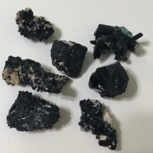 Shop Raw & Rough Black Tourmaline Stones! Black Tourmaline Very Tiny natural crystal from Erongo Namibia, Raw Stone, Protective stone, Healing crystal and stones, Spiritual Stone | Natural genuine stones & crystals in various shapes & sizes. Buy raw cut, tumbled, or polished gemstones for making jewelry or crystal healing energy vibration raising reiki stones. #crystals #gemstones #crystalhealing #crystalsandgemstones #energyhealing #affiliate #ad