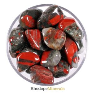 Shop Tumbled Bloodstone Crystals & Pocket Stones! One XL Bloodstone Tumbled Stone, Heliotrope Tumbled Stone, Bloodstone Heliotrope Tumbled Stones, Bloodstone Tumbled Stones, Zodiac Stones | Natural genuine stones & crystals in various shapes & sizes. Buy raw cut, tumbled, or polished gemstones for making jewelry or crystal healing energy vibration raising reiki stones. #crystals #gemstones #crystalhealing #crystalsandgemstones #energyhealing #affiliate #ad