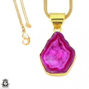 Shop Calcite Pendants! Cobalto Calcite Geode 24K Gold Plated Pendant 3MM Italian Snake Chain GPH1193   Natural genuine Calcite pendants. Buy crystal jewelry, handmade handcrafted artisan jewelry for women.  Unique handmade gift ideas. #jewelry #beadedpendants #beadedjewelry #gift #shopping #handmadejewelry #fashion #style #product #pendants #affiliate #ad