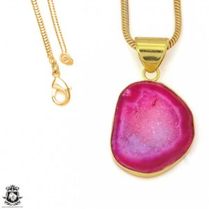 Shop Calcite Pendants! Cobalto Calcite Geode 24K Gold Plated Pendant 3MM Italian Snake Chain GPH1188   Natural genuine Calcite pendants. Buy crystal jewelry, handmade handcrafted artisan jewelry for women.  Unique handmade gift ideas. #jewelry #beadedpendants #beadedjewelry #gift #shopping #handmadejewelry #fashion #style #product #pendants #affiliate #ad
