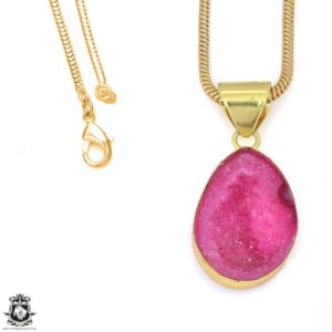 Shop Calcite Pendants! Cobalto Calcite Geode 24K Gold Plated Pendant 3MM Italian Snake Chain GPH1187   Natural genuine Calcite pendants. Buy crystal jewelry, handmade handcrafted artisan jewelry for women.  Unique handmade gift ideas. #jewelry #beadedpendants #beadedjewelry #gift #shopping #handmadejewelry #fashion #style #product #pendants #affiliate #ad