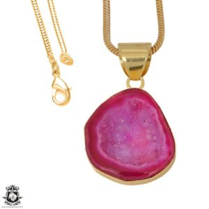 Shop Calcite Pendants! Cobalto Calcite Geode 24K Gold Plated Pendant 3MM Italian Snake Chain GPH1182   Natural genuine Calcite pendants. Buy crystal jewelry, handmade handcrafted artisan jewelry for women.  Unique handmade gift ideas. #jewelry #beadedpendants #beadedjewelry #gift #shopping #handmadejewelry #fashion #style #product #pendants #affiliate #ad