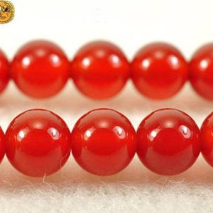 Carnelian,15 inch full strand GradeAAA Carnelian smooth round beads 6mm | Natural genuine beads Array beads for beading and jewelry making.  #jewelry #beads #beadedjewelry #diyjewelry #jewelrymaking #beadstore #beading #affiliate #ad