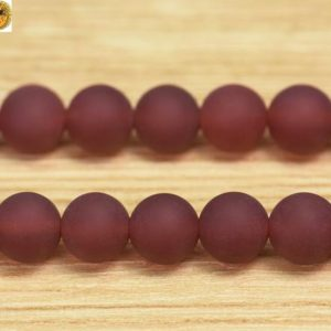Shop Carnelian Round Beads! 15 inch strand of natural Carnelian matte round beads 6mm 8mm 10mm 12mm & 14mm for Choice | Natural genuine round Carnelian beads for beading and jewelry making.  #jewelry #beads #beadedjewelry #diyjewelry #jewelrymaking #beadstore #beading #affiliate #ad