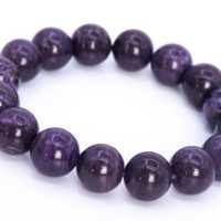16 Pcs – 13mm Charoite Bracelet Grade Aa Genuine Natural Dark Purple Round Gemstone Beads (114815) | Natural genuine Gemstone jewelry. Buy crystal jewelry, handmade handcrafted artisan jewelry for women.  Unique handmade gift ideas. #jewelry #beadedjewelry #beadedjewelry #gift #shopping #handmadejewelry #fashion #style #product #jewelry #affiliate #ad