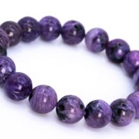 17 Pcs – 11-12mm Charoite Bracelet Grade Aa Genuine Natural Deep Purple Cream Swirling Round Gemstone Beads (114832) | Natural genuine Gemstone jewelry. Buy crystal jewelry, handmade handcrafted artisan jewelry for women.  Unique handmade gift ideas. #jewelry #beadedjewelry #beadedjewelry #gift #shopping #handmadejewelry #fashion #style #product #jewelry #affiliate #ad