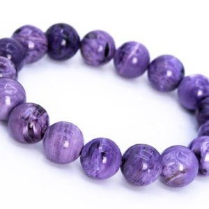 Shop Charoite Bracelets! 17 Pcs – 12MM Charoite Bracelet Grade AA Genuine Natural Purple Round Gemstone Beads (114823) | Natural genuine Charoite bracelets. Buy crystal jewelry, handmade handcrafted artisan jewelry for women.  Unique handmade gift ideas. #jewelry #beadedbracelets #beadedjewelry #gift #shopping #handmadejewelry #fashion #style #product #bracelets #affiliate #ad