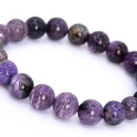 20 Pcs – 10mm Charoite Bracelet Grade A Genuine Natural Deep Purple Round Gemstone Beads (114840) | Natural genuine Gemstone jewelry. Buy crystal jewelry, handmade handcrafted artisan jewelry for women.  Unique handmade gift ideas. #jewelry #beadedjewelry #beadedjewelry #gift #shopping #handmadejewelry #fashion #style #product #jewelry #affiliate #ad