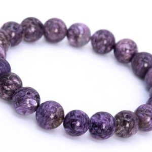 Shop Charoite Bracelets! 20 Pcs – 10MM Charoite Bracelet Grade A+ Genuine Natural Purple Cream Swirling Round Gemstone Beads (114834) | Natural genuine Charoite bracelets. Buy crystal jewelry, handmade handcrafted artisan jewelry for women.  Unique handmade gift ideas. #jewelry #beadedbracelets #beadedjewelry #gift #shopping #handmadejewelry #fashion #style #product #bracelets #affiliate #ad