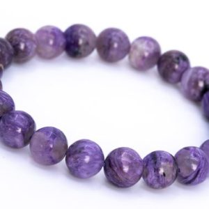 Shop Charoite Bracelets! 21 Pcs – 9MM Charoite Bracelet Grade A+ Genuine Natural Purple Cream Swirling Round Gemstone Beads (114842) | Natural genuine Charoite bracelets. Buy crystal jewelry, handmade handcrafted artisan jewelry for women.  Unique handmade gift ideas. #jewelry #beadedbracelets #beadedjewelry #gift #shopping #handmadejewelry #fashion #style #product #bracelets #affiliate #ad