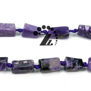 """Shop Charoite Chip & Nugget Beads! Charoite,15"""" full strand natural Charoite faceted nugget beads,irregular beads,smooth beads,5-8mm 